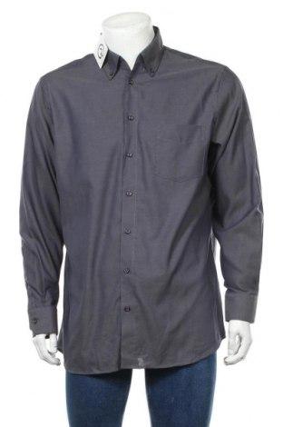 Ανδρικό πουκάμισο Walbusch, Μέγεθος L, Χρώμα Γκρί, Βαμβάκι, Τιμή 11,69€