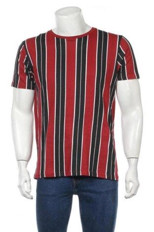 Мъжка тениска Brave Soul, Размер L, Цвят Многоцветен, Памук, Цена 29,40лв.