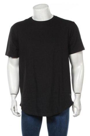 Tricou de bărbați Only & Sons, Mărime XL, Culoare Negru, 95% bumbac, 5% elastan, Preț 49,61 Lei