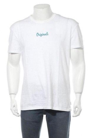 Pánské tričko  Originals By Jack & Jones, Velikost L, Barva Bílá, Bavlna, Cena  199,00Kč