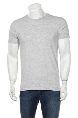 Мъжка тениска Pier One, Размер M, Цвят Сив, Памук, Цена 11,70лв.