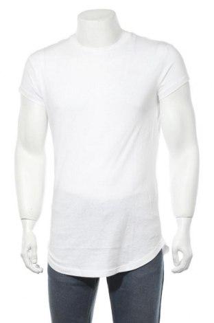 Мъжка тениска Pier One, Размер M, Цвят Бял, Памук, Цена 16,24лв.