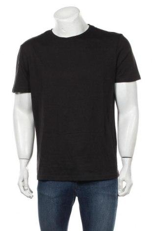 Мъжка тениска Pier One, Размер XL, Цвят Черен, Памук, Цена 16,82лв.