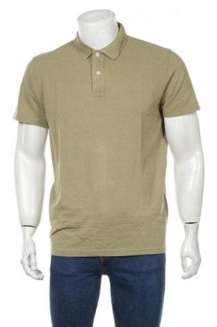 Ανδρικό t-shirt Selected Homme, Μέγεθος L, Χρώμα Πράσινο, Βαμβάκι, Τιμή 11,66€