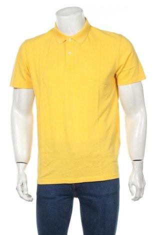 Ανδρικό t-shirt Selected Homme, Μέγεθος L, Χρώμα Κίτρινο, Βαμβάκι, Τιμή 15,08€