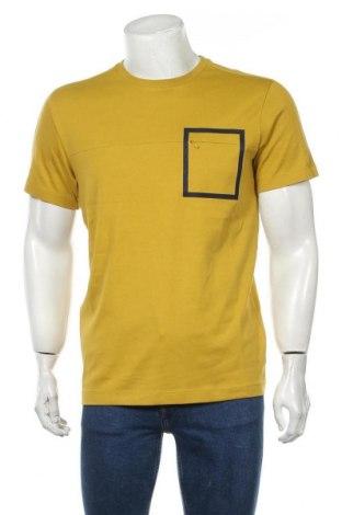 Ανδρικό t-shirt Selected Homme, Μέγεθος M, Χρώμα Πράσινο, Βαμβάκι, Τιμή 12,56€