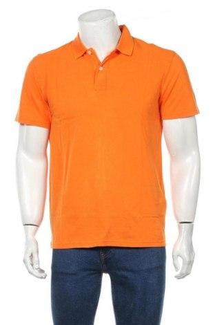 Мъжка тениска Selected Homme, Размер L, Цвят Оранжев, Памук, Цена 16,77лв.