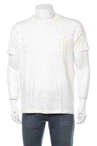 Pánské tričko  Selected Homme, Velikost L, Barva Bílá, 85% bavlna, 15% len, Cena  226,00Kč