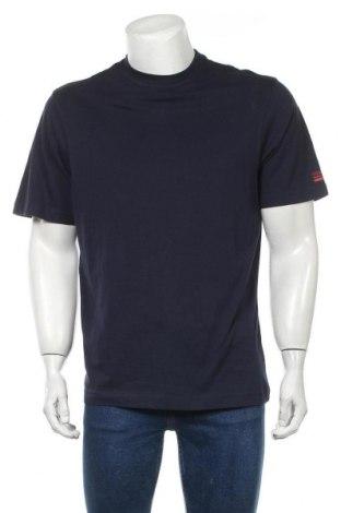 Мъжка тениска Signal, Размер M, Цвят Син, Памук, Цена 9,57лв.