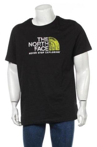 Мъжка тениска The North Face, Размер XL, Цвят Черен, Памук, Цена 46,72лв.