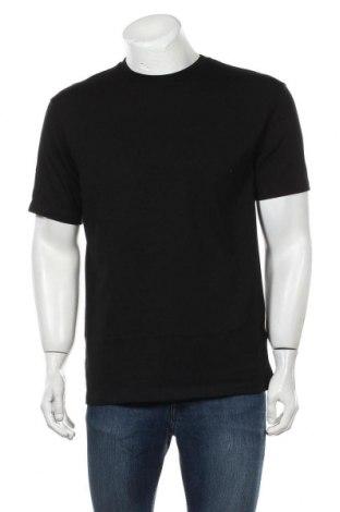 Мъжка тениска Topman, Размер XS, Цвят Черен, Памук, Цена 15,64лв.