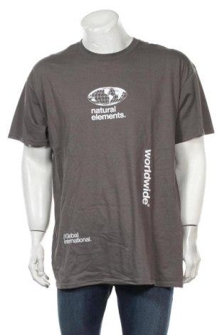 Мъжка тениска Topman, Размер L, Цвят Сив, Цена 11,60лв.