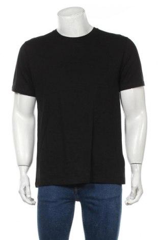 Мъжка тениска Topman, Размер M, Цвят Черен, Памук, Цена 11,60лв.