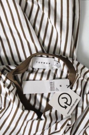 Мъжка тениска Topman, Размер M, Цвят Зелен, Памук, Цена 25,50лв.