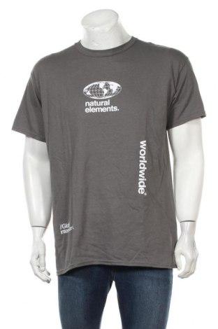 Ανδρικό t-shirt Topman, Μέγεθος M, Χρώμα Γκρί, Τιμή 5,98€