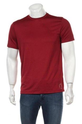 Мъжка тениска Topman, Размер M, Цвят Червен, Полиестер, Цена 20,30лв.
