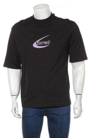 Мъжка тениска Your Turn, Размер S, Цвят Черен, Памук, Цена 10,33лв.