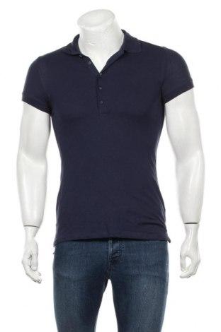 Мъжка тениска, Размер S, Цвят Син, Цена 13,44лв.