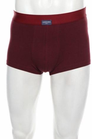 Boxeri bărbătești Azzaro, Mărime L, Culoare Roșu, 95% bumbac, 5% elastan, Preț 113,68 Lei