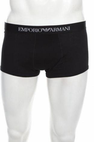 Boxeri bărbătești Emporio Armani Underwear, Mărime M, Culoare Negru, Bumbac, Preț 113,68 Lei