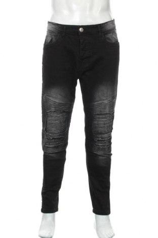 Мъжки дънки Brave Soul, Размер M, Цвят Черен, 98% памук, 2% еластан, Цена 40,71лв.