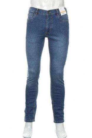 Мъжки дънки Burton of London, Размер M, Цвят Син, 99% памук, 1% еластан, Цена 23,12лв.