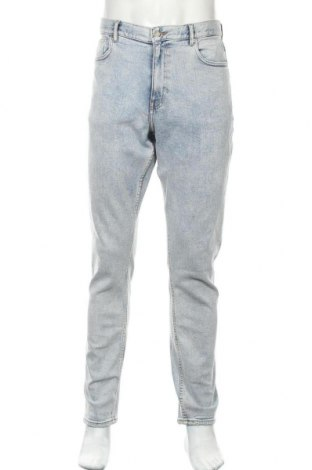 Pánské džíny  H&M, Velikost L, Barva Modrá, 99% bavlna, 1% elastan, Cena  430,00Kč