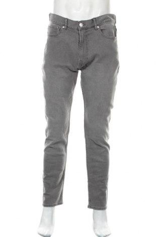 Pánské džíny  H&M, Velikost L, Barva Šedá, 89% bavlna, 10% polyester, 1% elastan, Cena  526,00Kč