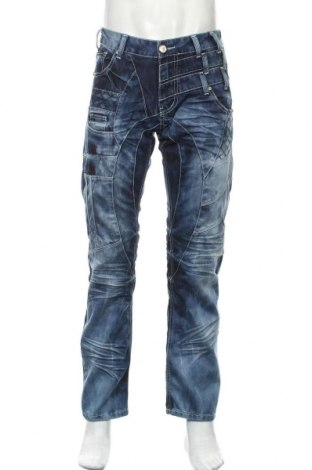 Pánské džíny  Kosmo Lupo, Velikost L, Barva Modrá, Bavlna, Cena  446,00Kč
