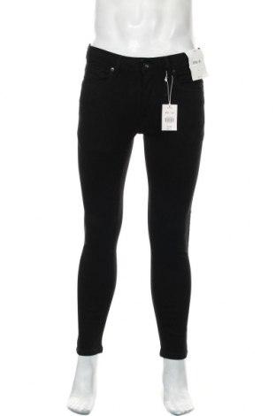 Pánské džíny  Topman, Velikost M, Barva Černá, 84% bavlna, 15% polyester, 1% elastan, Cena  450,00Kč