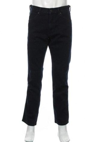 Мъжки дънки Wrangler, Размер M, Цвят Син, 74% памук, 26% еластан, Цена 45,15лв.