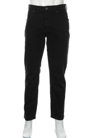 Мъжки дънки Wrangler, Размер M, Цвят Черен, 98% памук, 2% еластан, Цена 45,15лв.
