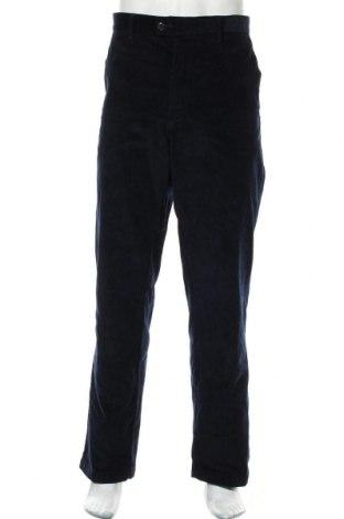 Pánské manšestráky  Marks & Spencer, Velikost XL, Barva Modrá, 99% bavlna, 1% elastan, Cena  446,00Kč