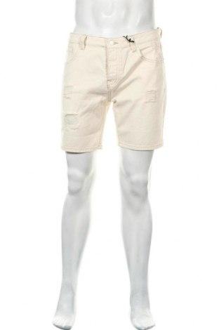 Мъжки къс панталон Brave Soul, Размер M, Цвят Бежов, Памук, Цена 24,50лв.