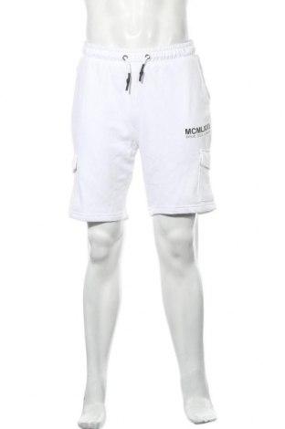 Мъжки къс панталон Brave Soul, Размер M, Цвят Бял, 80% памук, 20% полиестер, Цена 28,80лв.