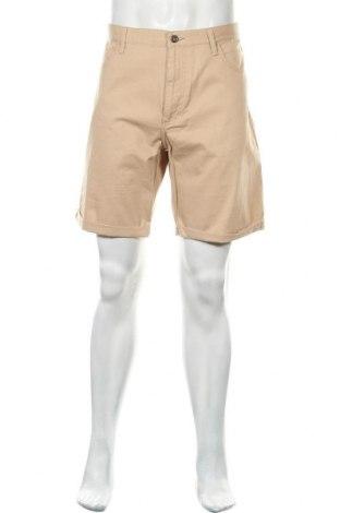 Мъжки къс панталон Fila, Размер XL, Цвят Бежов, Памук, Цена 18,02лв.