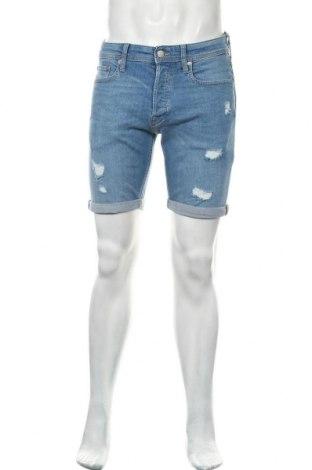 Pánské kraťasy Jack & Jones, Velikost M, Barva Modrá, 98% bavlna, 2% elastan, Cena  624,00Kč