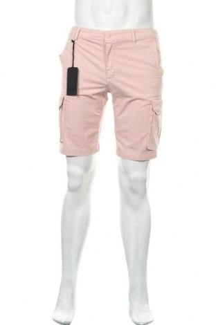 Ανδρικό κοντό παντελόνι Liu Jo, Μέγεθος M, Χρώμα Ρόζ , 97% βαμβάκι, 3% ελαστάνη, Τιμή 15,31€