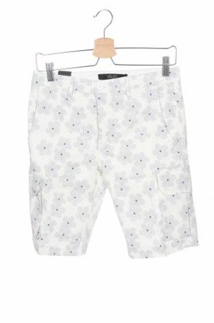 Мъжки къс панталон Liu Jo, Размер XS, Цвят Бял, 98% памук, 2% еластан, Цена 25,74лв.