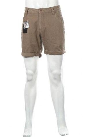 Мъжки къс панталон Maxx, Размер L, Цвят Бежов, Памук, Цена 8,93лв.