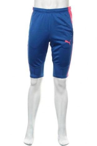 Pantaloni scurți de bărbați PUMA, Mărime S, Culoare Albastru, Poliester, Preț 68,09 Lei