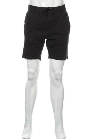 Мъжки къс панталон Pier One, Размер L, Цвят Черен, 80% памук, 20% полиестер, Цена 20,70лв.