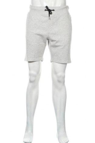 Мъжки къс панталон Pier One, Размер L, Цвят Сив, 78% памук, 18% полиестер, 4% вискоза, Цена 20,70лв.