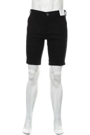 Мъжки къс панталон Topman, Размер M, Цвят Черен, 98% памук, 2% еластан, Цена 31,85лв.
