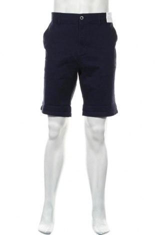 Мъжки къс панталон Topman, Размер XL, Цвят Син, 98% памук, 2% еластан, Цена 31,85лв.