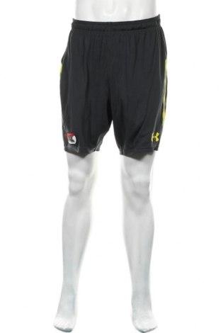 Pantaloni scurți de bărbați Under Armour, Mărime L, Culoare Gri, Poliester, Preț 116,94 Lei