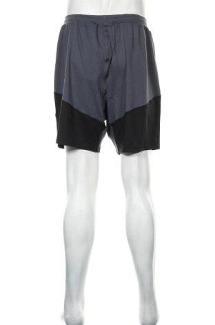 Мъжки къс панталон Under Armour, Размер L, Цвят Сив, 90% полиестер, 10% еластан, Цена 59,25лв.