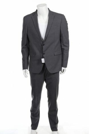 Costum de bărbați Liu Jo, Mărime XL, Culoare Gri, 96% lână, 4% elastan, Preț 531,41 Lei
