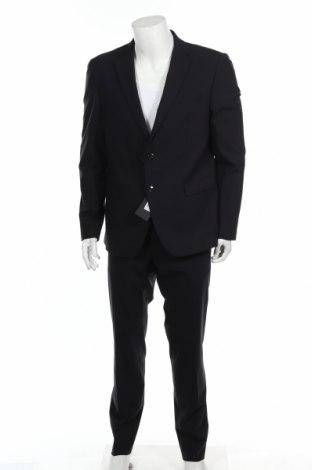 Costum de bărbați Liu Jo, Mărime XL, Culoare Albastru, 96% lână, 4% elastan, Preț 531,41 Lei