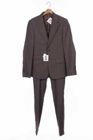 Costum de bărbați PuroEGO, Mărime S, Culoare Maro, Poliester, Preț 298,42 Lei